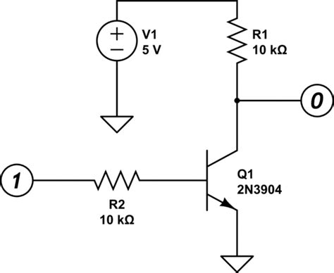 bjt transistor used as a switch digital logic use bjt transistor as a switch without inverting the signal electrical