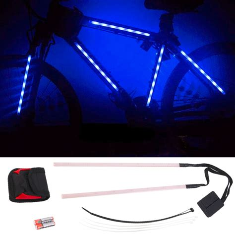 Led Light Strips For Bikes On Sale Decorative 14 Led Bike Frame Light Strips Rm35 90 Bicycle Equipment Accessories