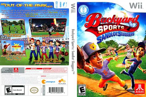 wii backyard baseball sade70 backyard sports sandlot sluggers
