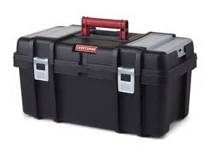 Tool Box Craftsman 22 Inch Tool Box With Tray Black Shop