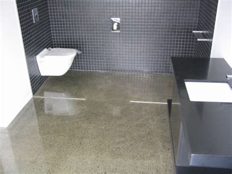 bathroom floor sealer traditional polished concrete floors