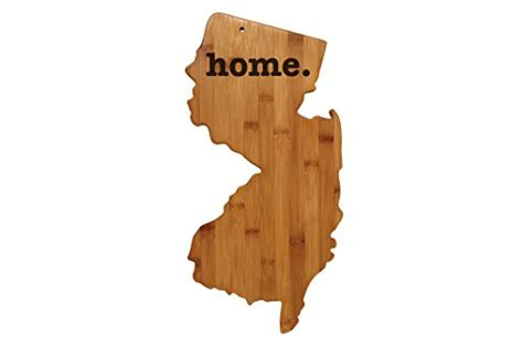 new jersey woodworking new jersey shaped bamboo wood cutting board engraved home