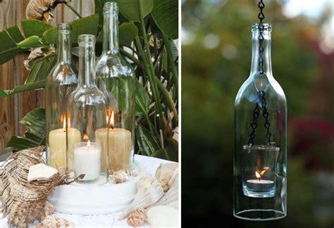 hängende nachttischlen diy alte flaschen zu neuem leben erwecken aceton