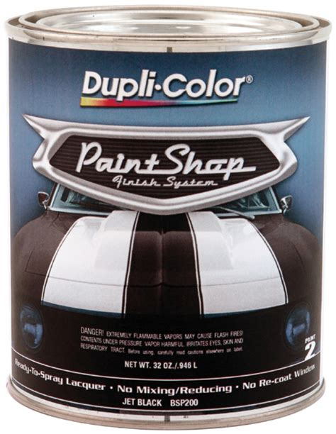 dupli color paint shop jet black 32 oz dupbsp200