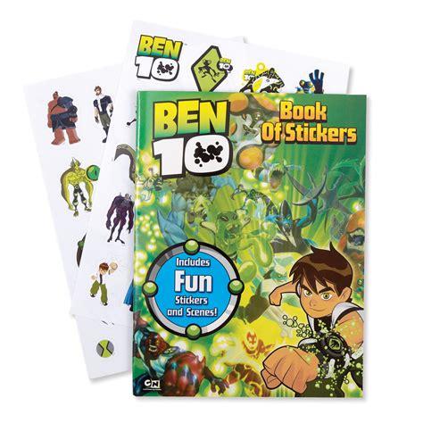 Sticker Nama Ben 10 ben 10 book of stickers birthdayexpress
