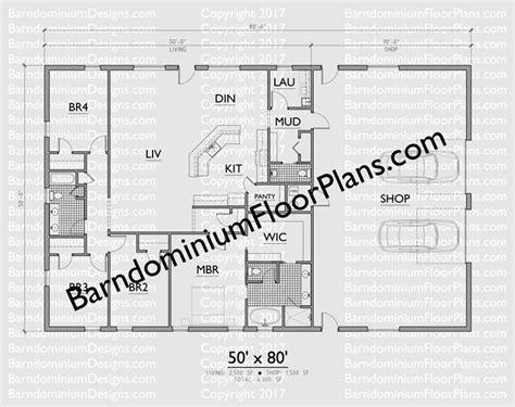 pole barn designs ideas  pinterest barn houses barndominium floor plans  dog