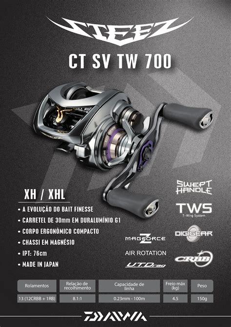 2019 Alpha Ct by Pesca Esportiva Tucunar 201 Carretilha Daiwa Stezz Ct Sv Tw