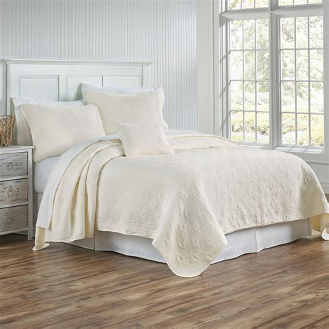 coverlet and shams traditions linens bedding whitney coverlet and shams
