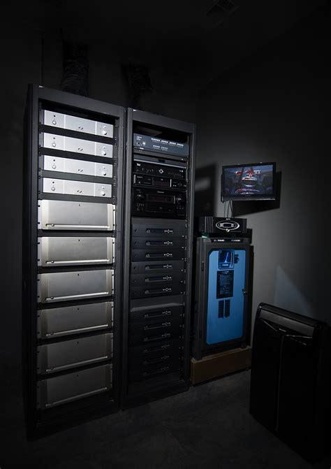 custom home theater equipment rack innovative home media