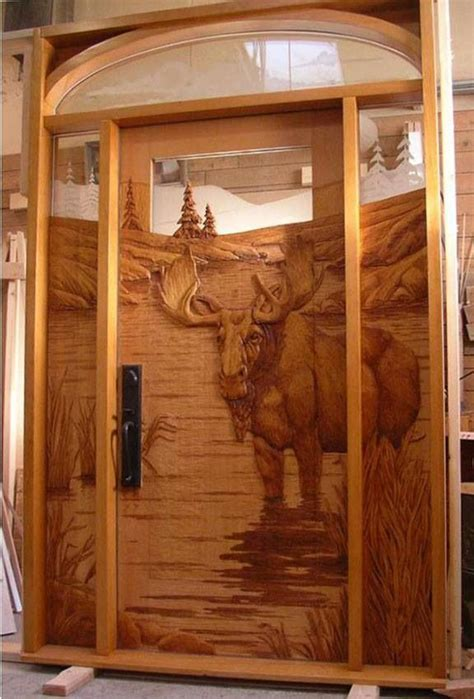 Log Home Front Doors Front Door To A Log Cabin Log Home Ideas