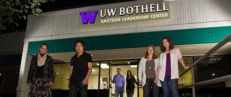 Of Wa Bothell Mba by Master Of Science In Accounting Uw Bothell