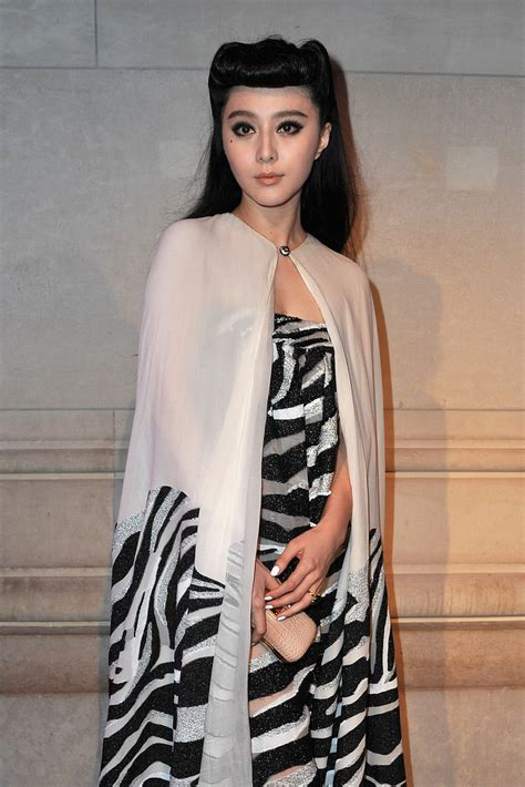 Fashion Week The Exhibition Part 4 Designers And Agents by Fan Bingbing In Louis Vuitton Marc The