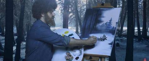 bob ross painting revenant bob ross imposter paints the revenant ny