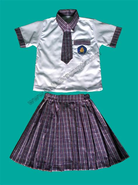 Desain Baju Seragam Paud | contoh gambar batik anak sekolah contoh club