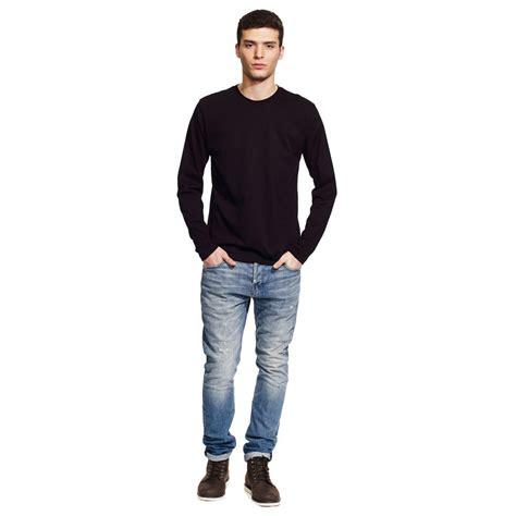 continental clothing mens long sleeve t shirt green premium