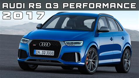 audi rs price 2017 audi rs q3 performance review rendered price specs