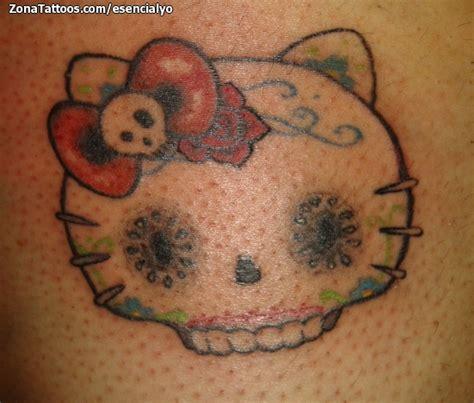 imagenes de hello kitty tatuajes tatuaje de hello kitty