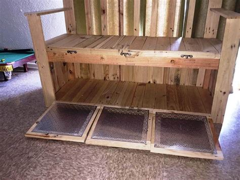 pallet bench with storage pallet bench with storage 101 pallets