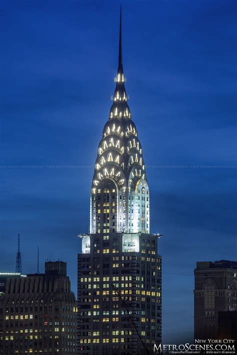 chrysler building pictures at the chrysler building at metroscenes new