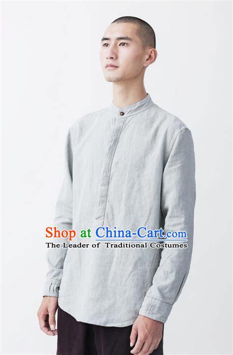 Linen China Koran century slavery tunic suit autumn leisure suit korean small business suit