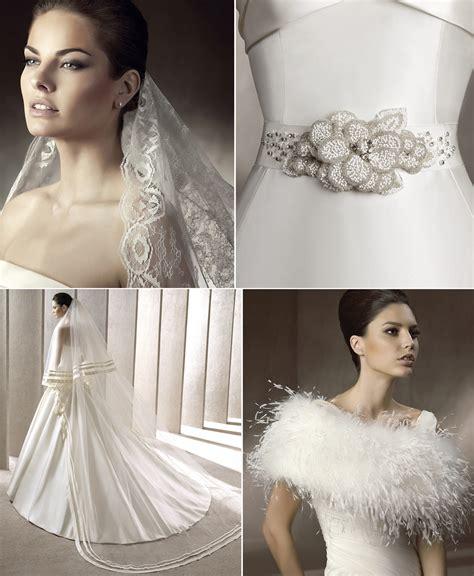 wedding dress accessories pronovias 2012 onewed com