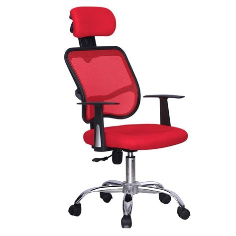 tenafly mesh desk chair red ergonomic executive mesh computer office desk task