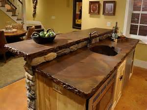 superior Kitchen Decorating Ideas On A Budget #1: bar-countertop-ideas.jpg