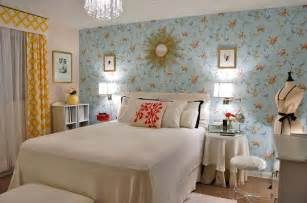 Blue Bedroom Wallpaper Light Blue Bedroom Ideas With Wallpaper Home Improvement