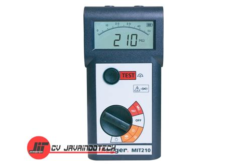 Alat Test Megger harga jual megger mit210 1000v digital analog insulation