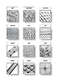 zentangle pattern scoodle zentangle pattern sheet 18 patterns knot richz