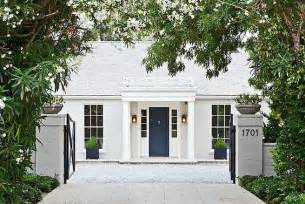 Tudor House Elevations by The White House My Favorite Exterior Paint Combinations
