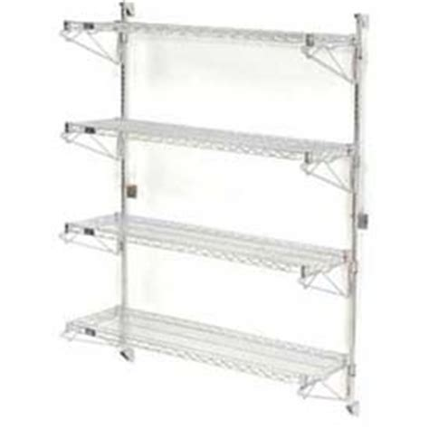 Wall Mount Wire Shelf by Wire Shelving Wall Mount Shelving Wall Mount