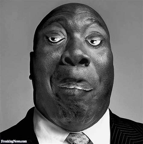 michael clarke duncan inverted face pictures