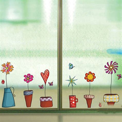 sticker for glass wall get cheap room decor aliexpress alibaba