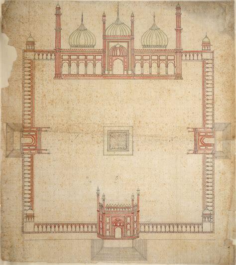 file ground plan of the jami masjid delhi jpg wikimedia