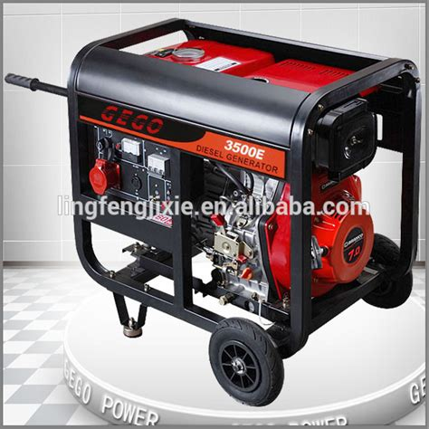 gego small electric generator diesel 3kva with price buy