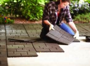 home depot rubber pavers the right paver path for every landscape garden club