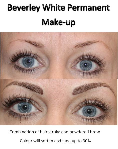 How To Soften Hair On Eyebrows And Get Them To Lay Down | beverley white permanent make up combination of hair