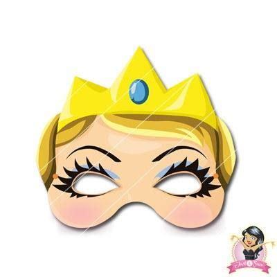 printable masks princess childrens diy printable princess mask simply party supplies