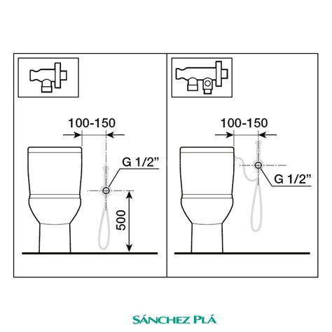grifos para inodoros grifo inodoro kit ducha para bid 233 be fresh roca