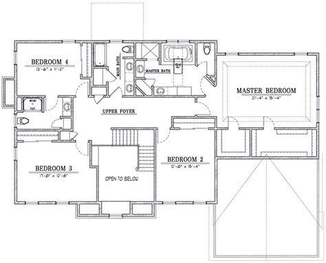 22 wonderful two storey residential house floor plan