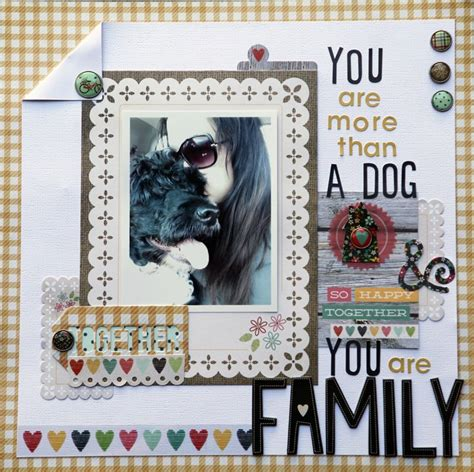 Scrapbooking Is More Popular Than Golf by Layout You Are More Than A You Are Family