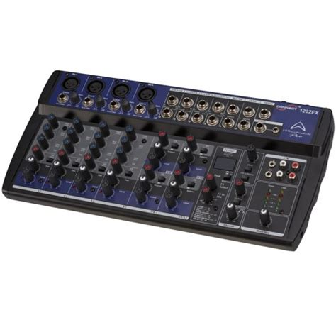 Mixer Wharfedale wharfedale pro connect 1202 fx usb mixer