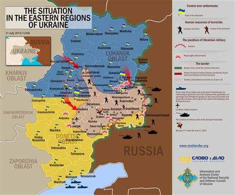 map ukraine separatist area july 2015 closing the eastern ukraine pocket 171 quotulatiousness