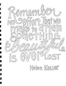 Something Beautiful From Victory Road Helen Keller Coloring Pages