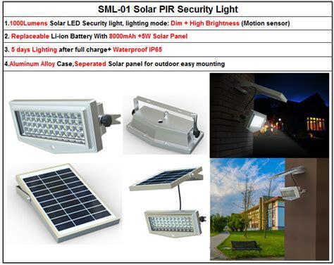 12 volt security light dc 12 volt motion sensor security solar led flood light
