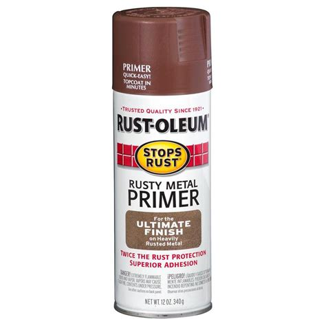 shop rust oleum 12 oz metal flat spray paint at lowes