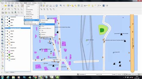 qgis tutorial making a map qgis tutorial use of geo processing tools intersect