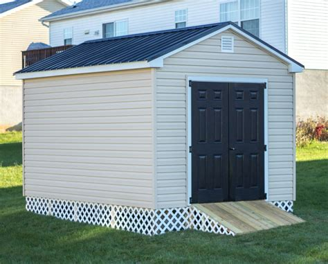 10x12 storage shed portable storage building byler barns