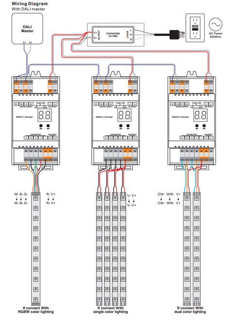 dali wiring diagram wiring diagram gw micro